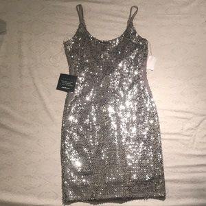 Silver Charlotte Russe Dress